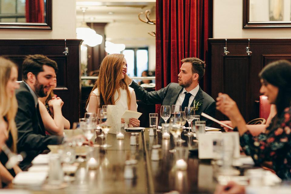 intimate wedding reception le select bistro