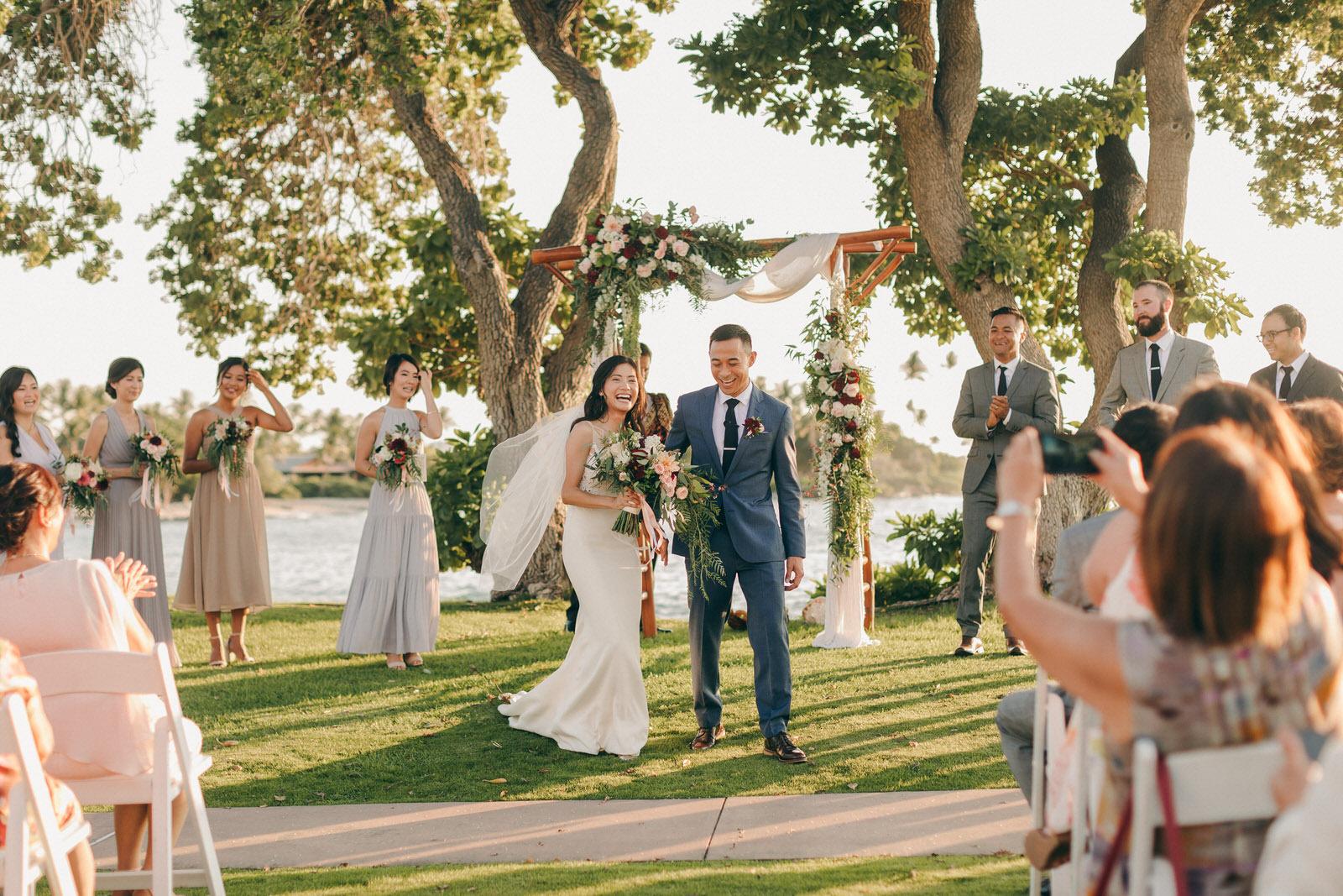 kona, fairmont orchid, hawaii wedding,