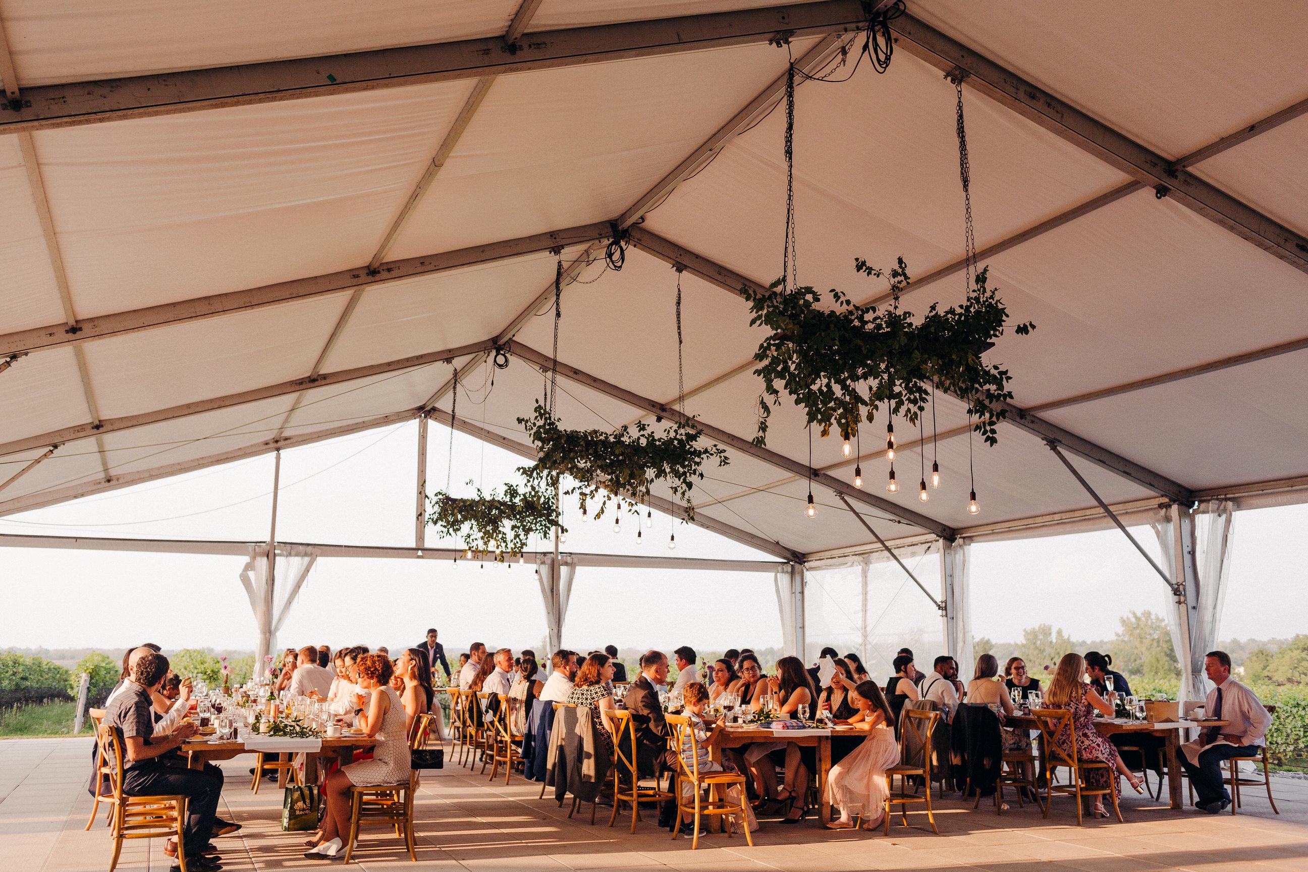 ravine vineyard tent reception